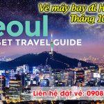Giá vé máy bay đi Hàn Quốc tháng 10