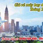 Giá vé máy bay đi Malaysia tháng 10