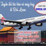 Tuyển đối tác bán vé máy bay đi Đài Loan