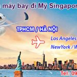 Vé máy bay đi Mỹ Singapore Airlines