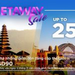Malaysia Airlines khuyến mãi đến 25% giá vé