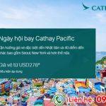 Ngày hội bay Cathay Pacific