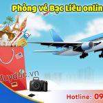 Phòng vé máy bay Bạc Liêu online giá rẻ