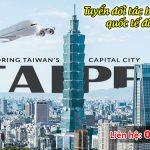 Tuyển đối tác bán vé máy bay quốc tế đi Đài Loan