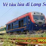 Vé tàu hỏa đi Lạng Sơn giá rẻ