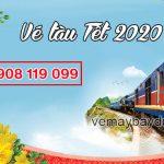 Vé tàu Tết 2020 giá rẻ