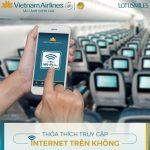 Vietnam Airlines ra mắt dịch vụ Wifi trên chuyến bay