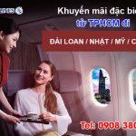 China Airlines khuyến mãi giá vé khởi hành từ TPHCM