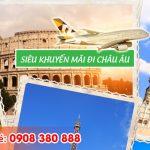 Siêu khuyến mãi đi châu Âu hãng Etihad Airways