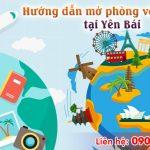 Hướng dẫn mở phòng vé máy bay tại Yên Bái