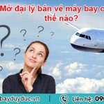 Mở đại lý cấp 2 bán vé máy bay như thế nào?