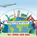 Phòng vé máy bay Lạng Sơn online