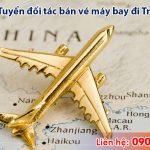 Tuyển đối tác bán vé máy bay đi Trung Quốc