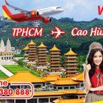 Vé máy bay giá rẻ từ Hồ Chí Minh đi Cao Hùng hãng Vietjet Air