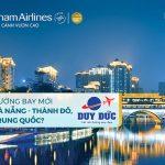 Vietnam Airlines khai trương đường bay mới Đà Nẵng – Thành Đô