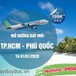 Bamboo Airways mở đường bay mới TPHCM – Phú Quốc
