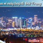Đặt vé máy bay đi Đài Trung (RMQ) Đài Loan tại Bạc Liêu