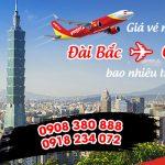 Giá vé từ Đài Bắc (TPE) về Cần Thơ hãng Vietjet bao nhiêu tiền?