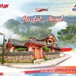 Tuyển đại lý bán vé máy bay Đà Lạt đi Seoul Vietjet Air