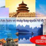 Tuyển đối tác bán vé máy bay quốc tế đi Trung Quốc