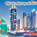 Đặt vé máy bay đi Đài Trung (RMQ) Đài Loan tại Bình Dương