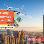 Tại An Giang mua vé máy bay đi Đài Loan ở đâu