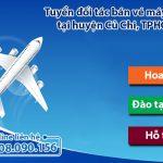 Tuyển đối tác bán vé máy bay tại huyện Củ Chi, TPHCM