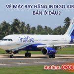 Vé máy bay hãng Indigo Airlines bán ở đâu?