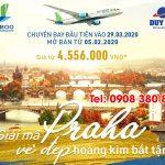 Bamboo Airways chính thức mở bán vé cho đường bay thẳng Hà Nội – Praha