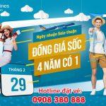 """""""Ngày Nhuận – Sale thuận"""" cùng Vietnam Airlines chỉ 199.000 VNĐ/chặng"""