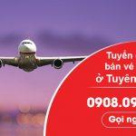 Việt Mỹ tuyển cộng tác bán vé máy bay ở Tuyên Quang