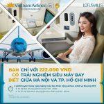 Vietnam Airlines mở bán vé giữa TP.HCM và Hà Nội chỉ từ 589.000 đồng