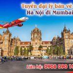 Tuyển đại lý bán vé máy bay Hà Nội đi Mumbai Vietjet Air