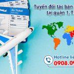 Tuyển đối tác bán vé máy bay tại Quận 1, TPHCM