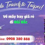 Đại lý bán vé máy bay đi Taipei (TPE) giá rẻ