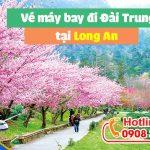 Đặt vé máy bay đi Đài Trung (RMQ) Đài Loan tại Long An