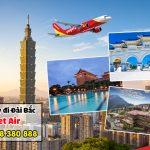 Vé máy bay giá rẻ đi Đài Bắc (TPE) Vietjet Air