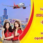 Vé máy bay Vietjet từ Cao Hùng về Hà Nội bao nhiêu tiền?