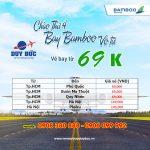 Thứ 4 Rực Rỡ, săn vé Bamboo Airways chỉ từ 69K