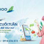 Chợ phiên cuối tuần vé máy bay Bamboo Airways chỉ từ 45K