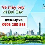 Đại lý bán vé đi Đài Bắc (TPE) Đài Loan tại Hồ Chí Minh