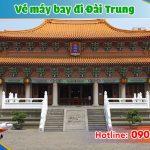 Đặt vé máy bay đi Đài Trung (RMQ) Đài Loan tại Bình Thuận