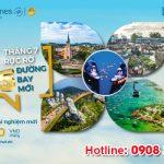Vietnam Airlines chào đón 10 đường bay mới từ 22/6