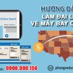 Hướng dẫn làm đại lý vé máy bay tại Hòa Bình không cần vốn