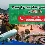 Ở Sơn La đăng ký làm đại lý vé máy bay như thế nào?