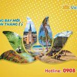 Vietnam Airlines chào đón 6 đường bay mới trong tháng 6