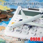 Đăng ký làm đối tác bán vé máy bay tại Hà Giang với Việt Mỹ