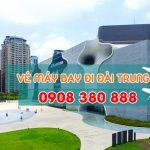 Đặt vé máy bay đi Đài Trung (RMQ) Đài Loan tại Gia Lai