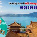 Đặt vé máy bay đi Đài Trung (RMQ) Đài Loan tại Khánh Hòa