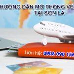Việt Mỹ hướng dẫn mở phòng vé máy bay tại Sơn La